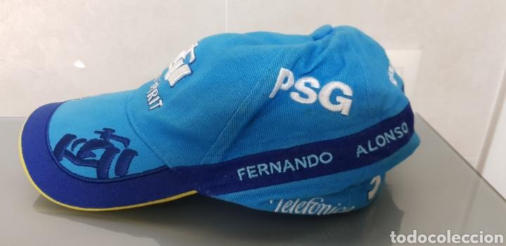 Coleccionismo deportivo: ANTIGUA GORRA FERNANDO ALONSO RENAULT OFICIAL - Foto 3 - 140524997