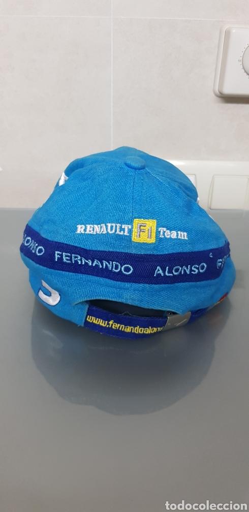 Coleccionismo deportivo: ANTIGUA GORRA FERNANDO ALONSO RENAULT OFICIAL - Foto 4 - 140524997