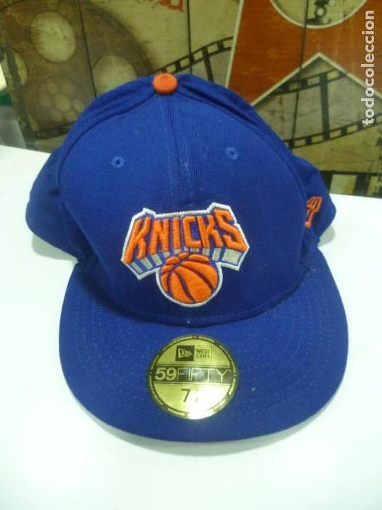 GORRA NBA OFICIAL: KNICKS (Coleccionismo Deportivo - Merchandising y Mascotas - Otros deportes)