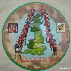Coleccionismo deportivo: SELECCION ESPAÑOLA_DISCO DE VINILO LP 12'' EUROCOPA 96 COMO NUEVO!!!. Lote 142302534