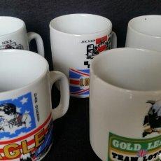 Coleccionismo deportivo: JUEGO TAZAS MUG F1 VINTAGE. Lote 143874753