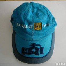 Coleccionismo deportivo: GORRA FERNANDO ALONSO. VISERA. RENAULT F1 TEAM.. Lote 144161910
