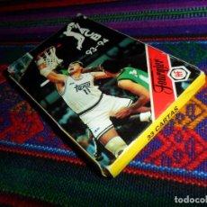 Coleccionismo deportivo: NAIPES HERACLIO FOURNIER, BARAJA ACB 93 94 COMPLETA 33 CARTAS. BALONCESTO. FORMA CUARTETOS. BE.. Lote 145095902
