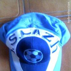 Coleccionismo deportivo: GORRA DEL LAZIO DE ROMA DE FUTBOL. Lote 147481522