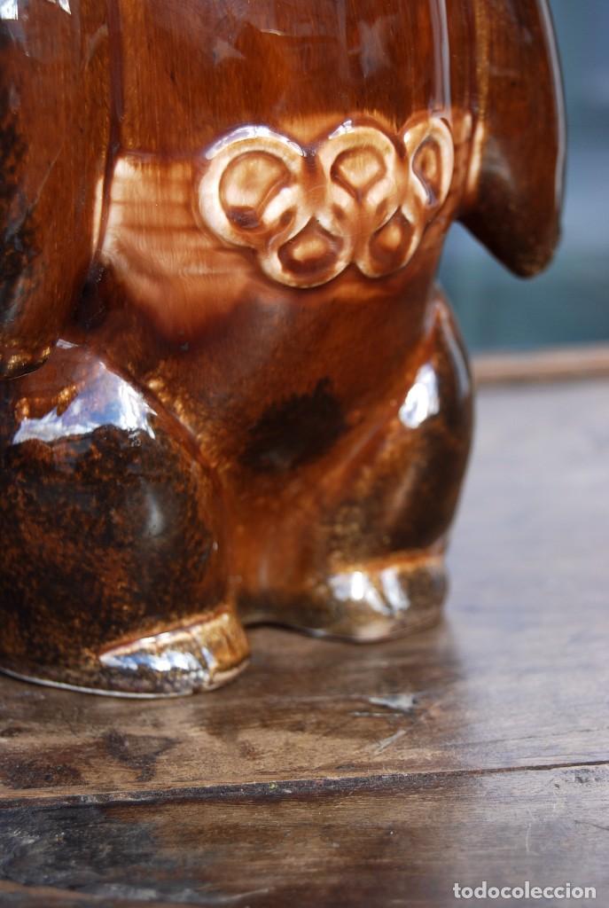 Coleccionismo deportivo: Mascota olímpica oso MISHKA de porcelana Juegos Olímpicos de 1980 en Moscú Ternopil URSS Porzell - Foto 8 - 147938930