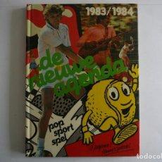 Coleccionismo deportivo: DE NIEUWE AGENDA. 1983/1984. TENIS. BORG, MCENROE, TRACY AUSTIN. BANANARAMA, VICTORIA PRINCIPAL. Lote 148323126