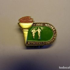 Coleccionismo deportivo: INSIGNIA OLIMPIADAS DE MOSCU, AÑO 1980.. Lote 148548074