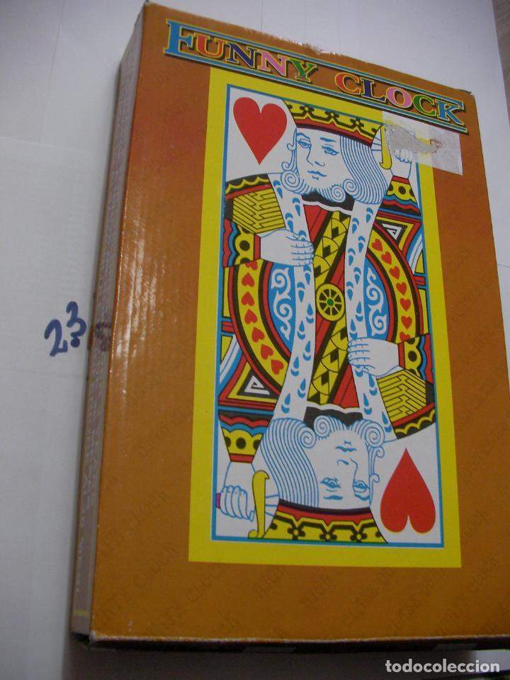 Coleccionismo deportivo: RELOJ GRAN TAMAÑO BARAJA DE POKER NUEVO SIN USAR EN SU CAJA - Foto 3 - 152680034