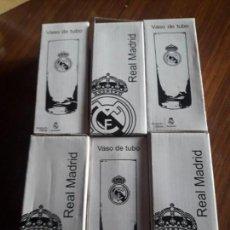 Coleccionismo deportivo: VASOS DEL REAL MADRID. Lote 153175166