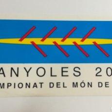 Coleccionismo deportivo: PEGATINA - MUNDIAL DE REMO DE 2004. Lote 153266706