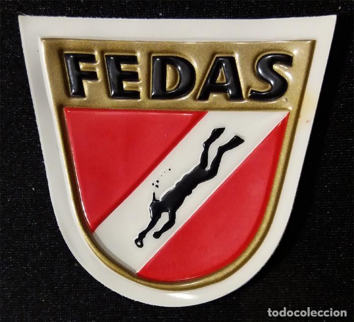 PARCHE FEDAS PLATIFICADO (Coleccionismo Deportivo - Merchandising y Mascotas - Otros deportes)