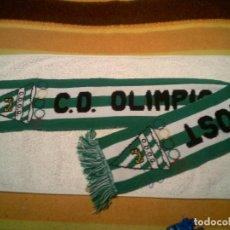 Coleccionismo deportivo: BUFANDA DEL CD OLIMPIC CONGOST DE GRANOLLERS. Lote 154548022