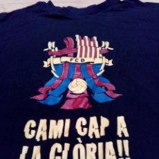Coleccionismo deportivo: CAMISETA HISTÓRICA FC BARCELONA WEMBLEY 2011 . Lote 155422074