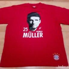 Coleccionismo deportivo: CAMISETA DE FÚTBOL THOMAS MÜLLER BAYERN MUNICH. (OFICIAL). Lote 155424554