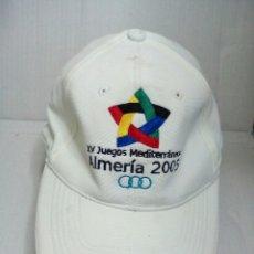 Coleccionismo deportivo: GORRA JUEGOS DEL MEDITERRÁNEO. Lote 155691682