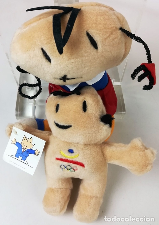 Coleccionismo deportivo: COBI Y PETRA. JUEGOS OLÍMPICOS Y PARALÍMPICOS. JAVIER MARISCAL. BARCELONA 1992 - Foto 4 - 155799558