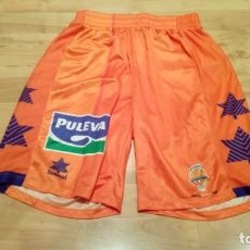 Coleccionismo deportivo: PANTALONES VALENCIA BASKET CLUB MATCH WORN. Lote 156725446