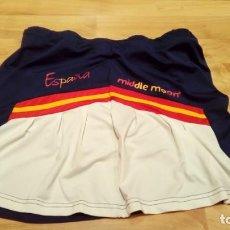 Coleccionismo deportivo: FALDA SELECCIÓN ESPAÑA PÁDEL MATCH WORN. Lote 156726534