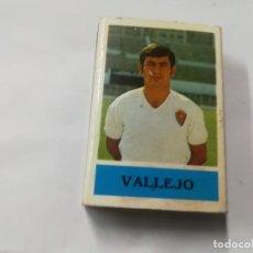 Coleccionismo deportivo: ANTIGUA CAJA CERILLAS JUGADOR VALLEJO REAL ZARAGOZA. Lote 157725506