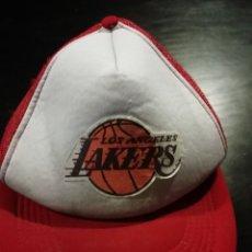 Coleccionismo deportivo: GORRA BASKET NBA LOS ÁNGELES LAKERS USA. Lote 157972166
