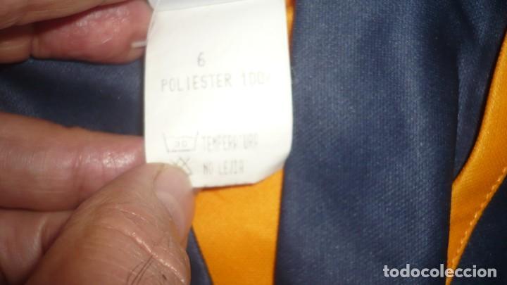 Coleccionismo deportivo: Conjunto camiseta y pantalón Corte Infantil - Luanvi (talla adulto) - Foto 6 - 160933790