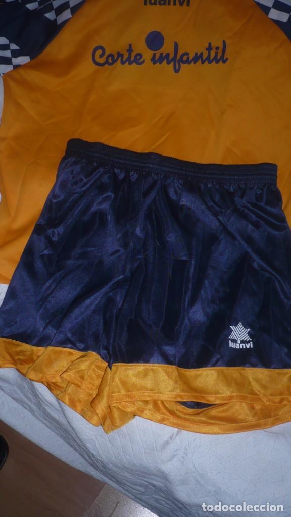 Coleccionismo deportivo: Conjunto camiseta y pantalón Corte Infantil - Luanvi (talla adulto) - Foto 9 - 160933790