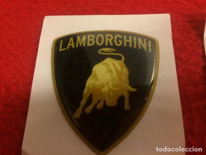 Coleccionismo deportivo: Escudos Lamborghini - Foto 2 - 163422222