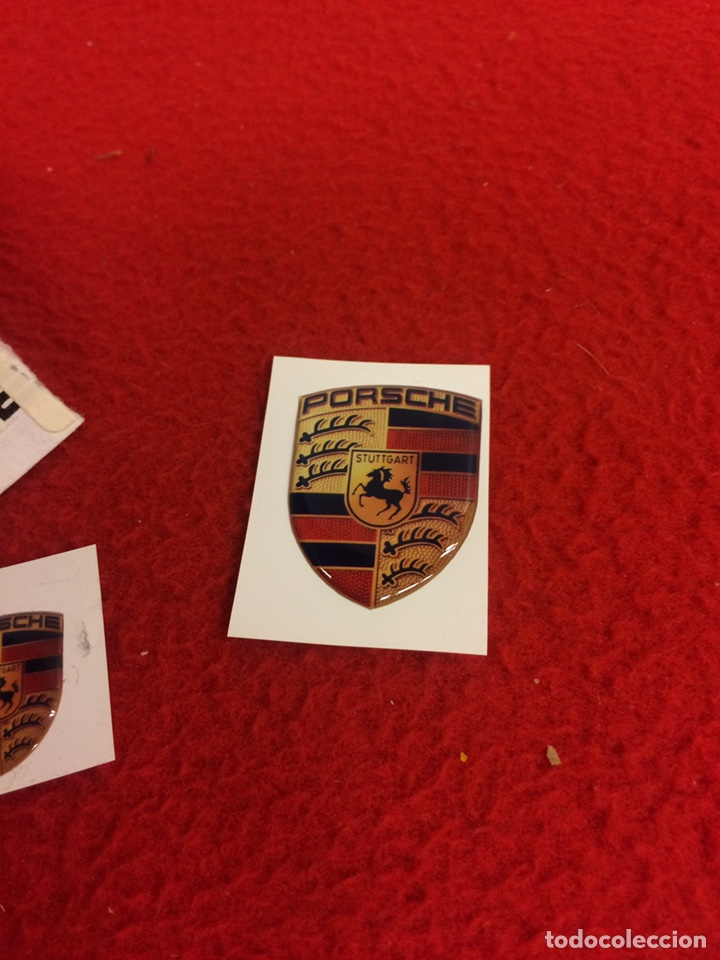 Coleccionismo deportivo: Escudos. Porsche - Foto 2 - 163562312