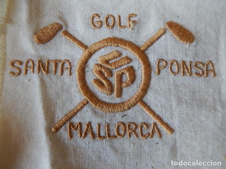 Coleccionismo deportivo: Bordado. Golf. Santa Ponsa. Mallorca. Baleares. - Foto 3 - 165137026