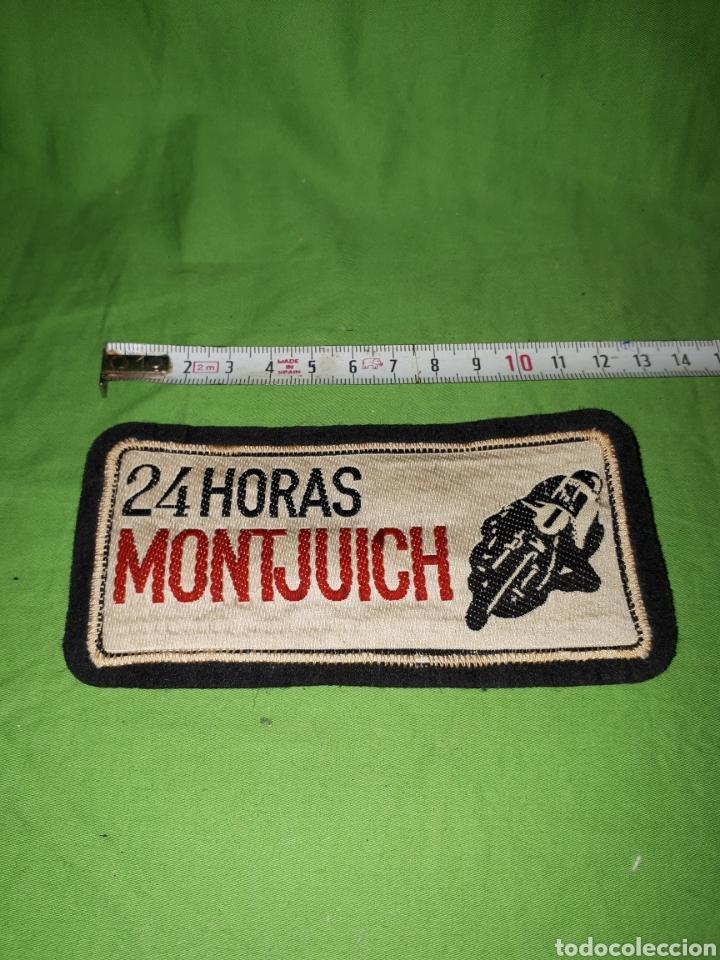 ANTIGUO PARCHE 24 HORAS DE MONTJUICH MOTOS (Coleccionismo Deportivo - Merchandising y Mascotas - Otros deportes)