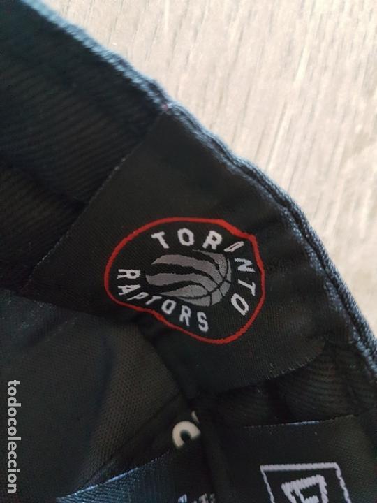 Coleccionismo deportivo: Gorra oficial NBA Toronto Raptors - Foto 3 - 168177860