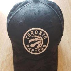 Coleccionismo deportivo: GORRA OFICIAL NBA TORONTO RAPTORS. Lote 168177860
