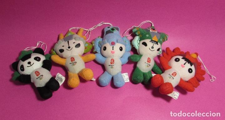 OLIMPIADAS PEKIN 2008 SERIE MASCOTAS - PELUCHES - BEIJING 2008 (Coleccionismo Deportivo - Merchandising y Mascotas - Otros deportes)