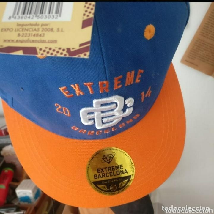 GORRA OFICIAL 1A EDICIÓN EXTREME GAMES BARCELONA 2014 (Coleccionismo Deportivo - Merchandising y Mascotas - Otros deportes)