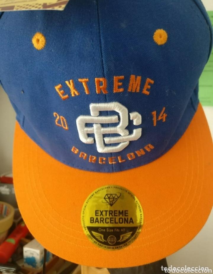 Coleccionismo deportivo: Gorra oficial 1a edición Extreme Games Barcelona 2014 - Foto 5 - 173603969