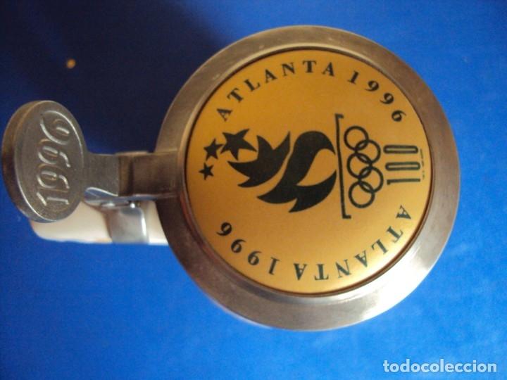 Coleccionismo deportivo: (F-190901)JARRA DE CERVEZA OLIMPIADAS NUMERADA - Foto 2 - 175760994