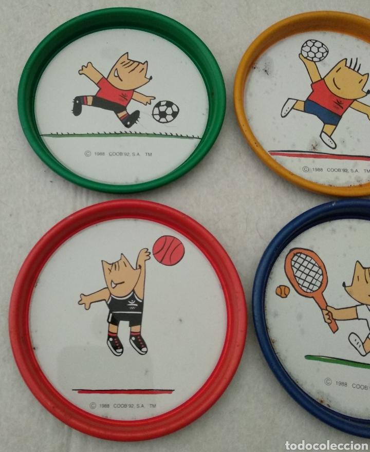 Coleccionismo deportivo: Antiguos posavasos cobi mascota olimpiadas Barcelona 1992 - Foto 4 - 177614643