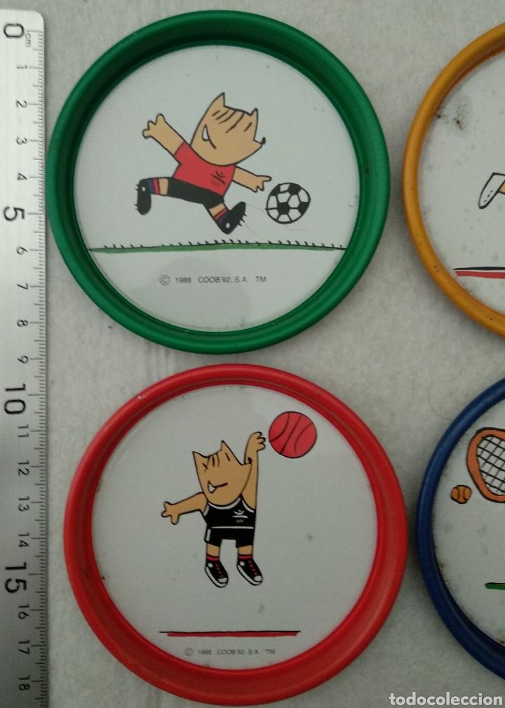 Coleccionismo deportivo: Antiguos posavasos cobi mascota olimpiadas Barcelona 1992 - Foto 5 - 177614643