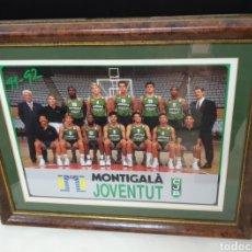 Coleccionismo deportivo: JUVENTUD DE BADALONA MONTIGALA 91/92. Lote 178185951
