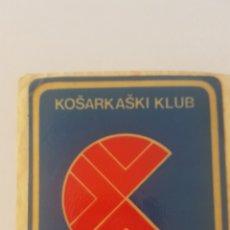 Coleccionismo deportivo: CIBONA DE ZAGREB. KOŠARKAŠKI KLUB. SIN PEGAR. AÑOS 80. Lote 178273933