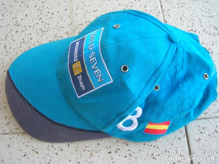 Coleccionismo deportivo: GORRA DE FERNANDO ALONSO RENAULT F1 TEAM DORSAL ,8 - Foto 2 - 179086038