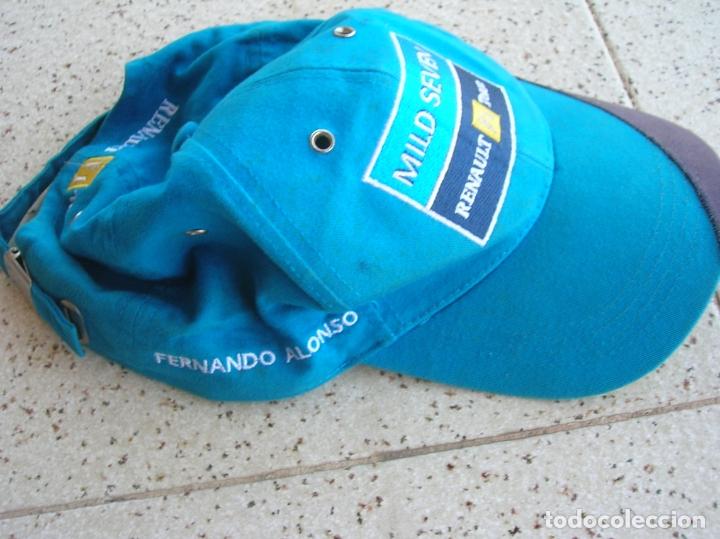 GORRA DE FERNANDO ALONSO RENAULT F1 TEAM DORSAL ,8 (Coleccionismo Deportivo - Merchandising y Mascotas - Otros deportes)
