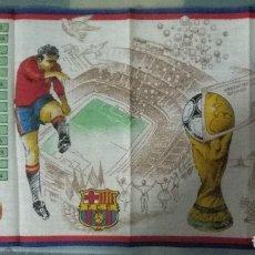 Coleccionismo deportivo: PAÑUELO MUNDIAL ESPAÑA 82 EN SOBRE ORIGINAL.. Lote 179332808