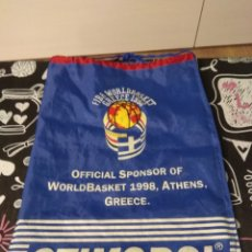 Coleccionismo deportivo: BOLSA DE TELA DEPORTE FIBA 1998 ATHENS GREECE. STIMOROL. Lote 182218588