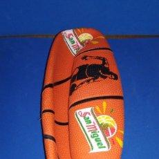 Coleccionismo deportivo: PELOTA DE BALONCESTO DE SAN MIGUEL, NUEVA DESINCHADA. Lote 183257660