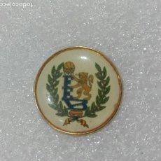 Coleccionismo deportivo: PIN DEPORTES BALONCESTO LEON RAMPANTE EQUIPO SIN IDENTIFICAR SIN CIERRE TRASERO. Lote 185754191