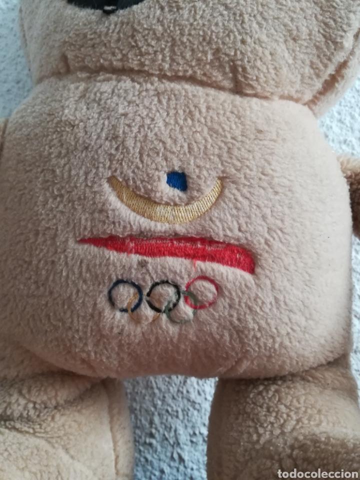 Coleccionismo deportivo: Peluche Cobi - Juegos Olímpicos Barcelona 92 - Mascota - Foto 3 - 186451485