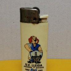 Coleccionismo deportivo: MECHERO UNION ESPORTIVA LLEIDA AÑO 1993 ASCENSO A PRIMERA. Lote 187573593