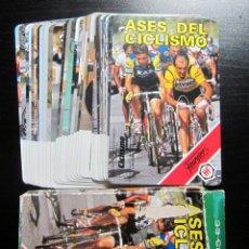 Coleccionismo deportivo: BARAJA FOURNIER AÑO 1988 CICLISMO PERICO DELGADO LEJARRETA LEMOND FIGNON. Lote 189487635