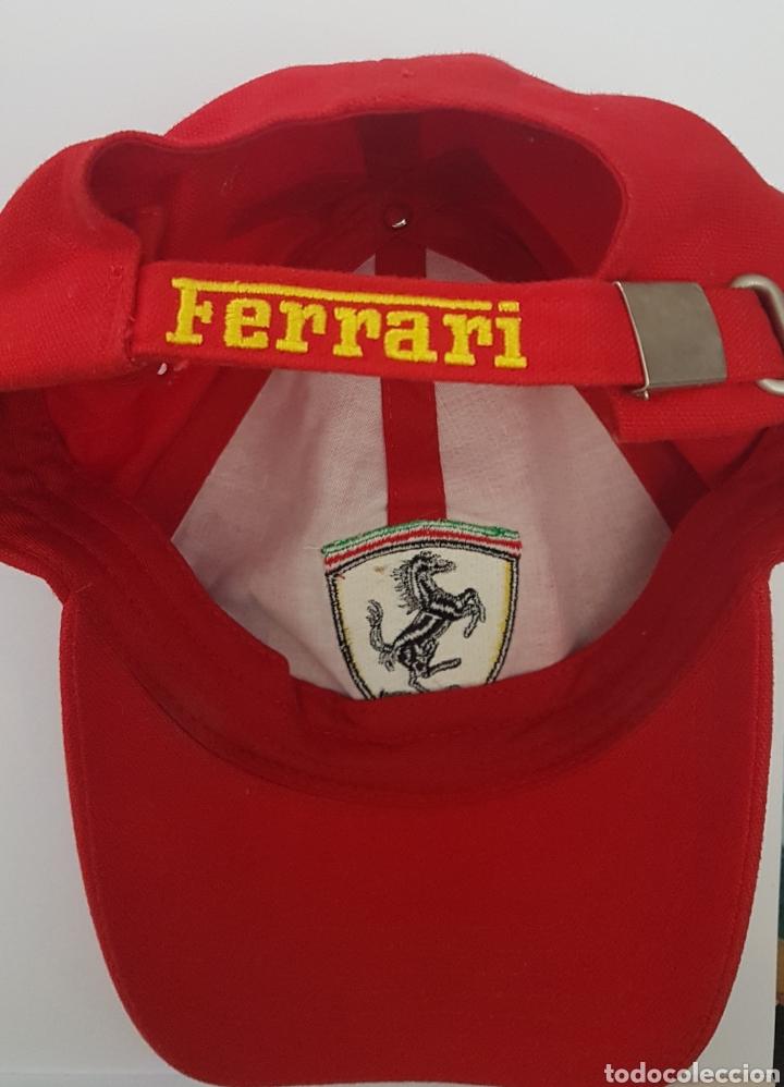Coleccionismo deportivo: Gorra original escudería Ferrari - Foto 2 - 189537492